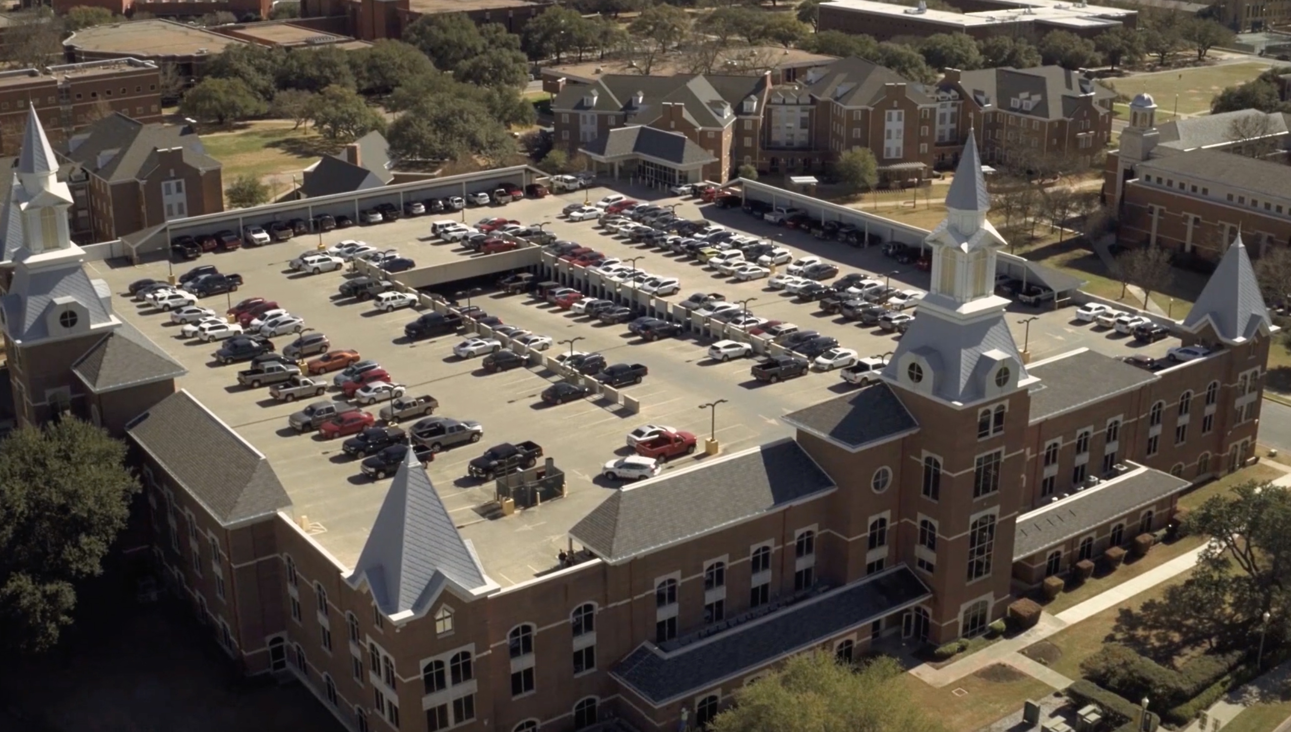 Baylor parking garage